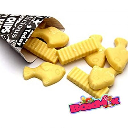 Fish n chips sweets - boxmix.co.uk
