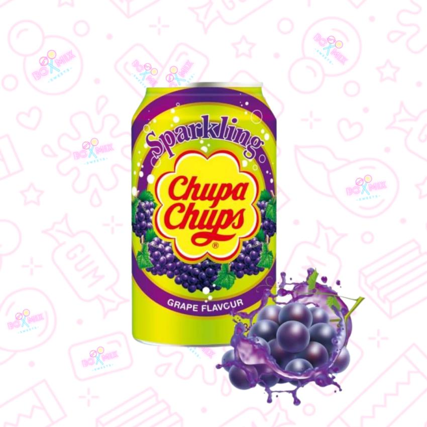 Chupa Chups Grape Can 330ml - boxmix.co.uk