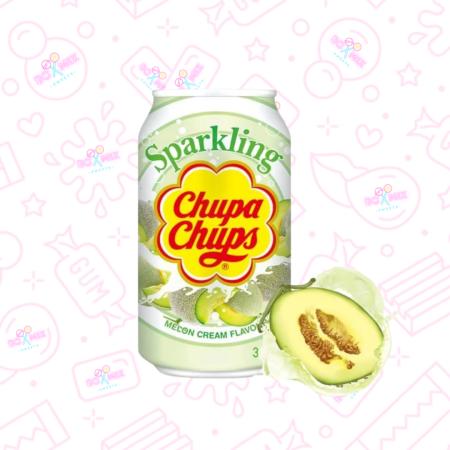Chupa Chups Melon Cream Can 330ml - boxmix.co.uk