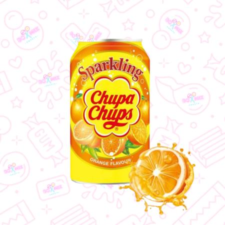 Chupa Chups Orange Can 330ml - boxmix.co.uk