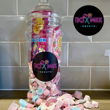 Filled Jars Sweets - Boxmix.co.uk