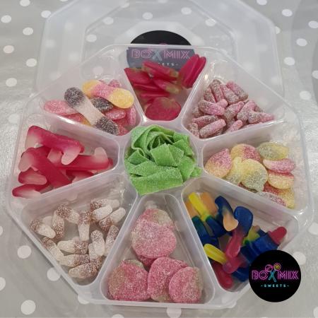 Vegan Sweet Platter Pick n Mix Closed - Boxmix.co.uk