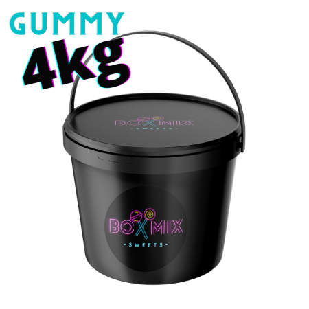 4kg Gummy mix- Boxmix.co.uk