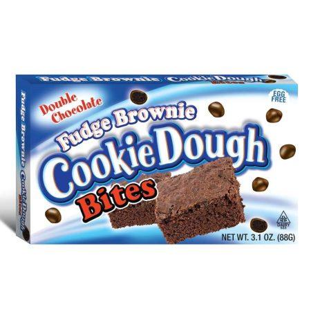 Cookie dough bites fudge brownie - boxmix.co.uk