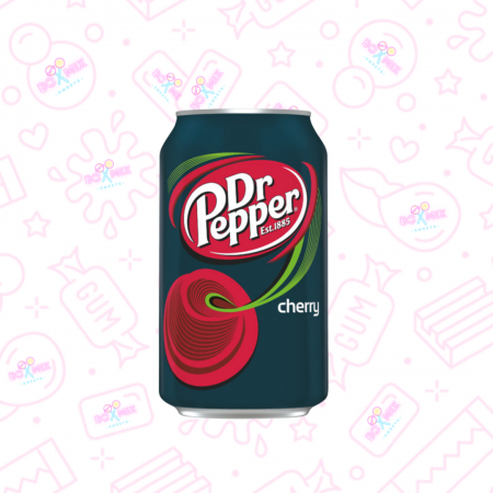 Dr Pepper Cherry Can 330ml - boxmix.co.uk