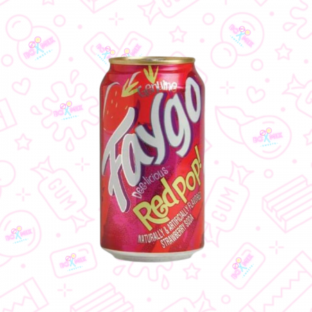 Faygo red pop Can 330ml - boxmix.co.uk