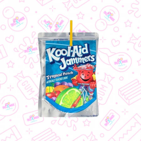 Kool Aid Jammers Tropical Punch - boxmix.co.uk