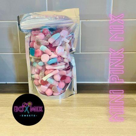 Mini Pink Mix 500g - Boxmix.co.uk