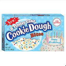 cookie dough birthday cake bites - boxmix.co.uk