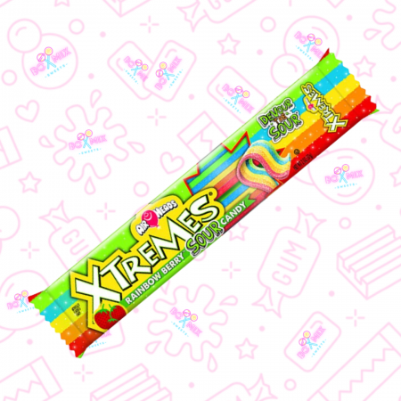 Air Heads Xtremes Rainbow Berry Sour Candy - boxmix.co.uk