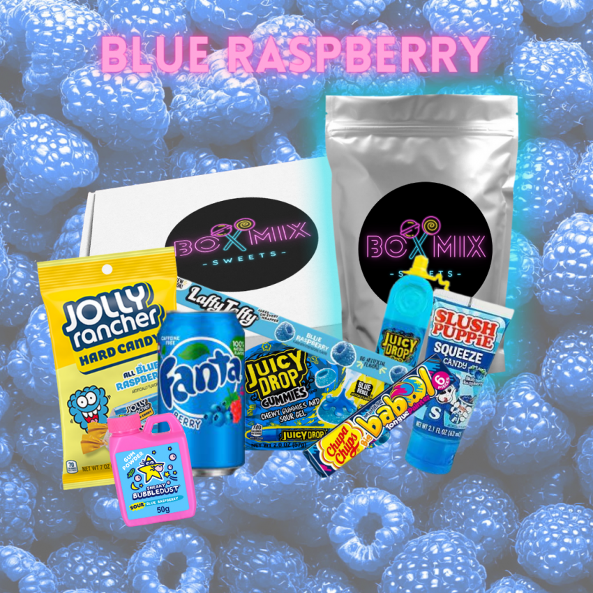 Blue Raspberry Mega Mix - Boxmix.co.uk
