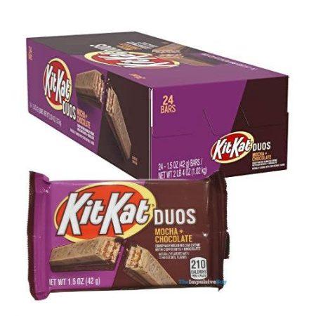 Kit Kat Duos Mocha & Chocolate - boxmix.co.uk