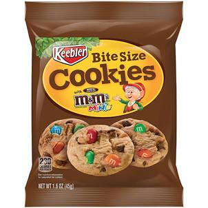 M&M Bite Size Cookies - Boxmix.co.uk