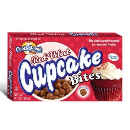 Red Velvet Cupcake Bites - boxmix.co.uk