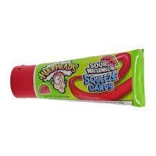 Warheads Sour Watermelon Squeeze Candy 2.25oz (64g) - Boxmix.co.uk