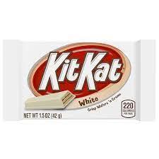 White Kit Kat - Boxmix.co.uk