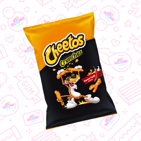 Cheetos Crunchos Sweet Chilli (EU) 95g - Boxmix.co.uk