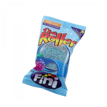 Fizzy raspberry flavour belts The longest candy belt Individually wrapped