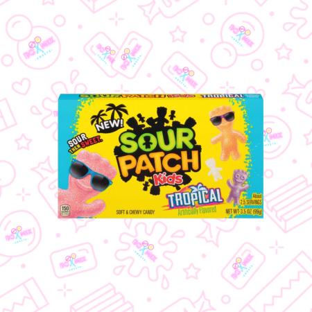 Sour Patch Kids Tropical Theatre box - boxmix.co.uk
