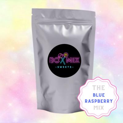 The Blue Raspberry Mix - Boxmix.co.uk