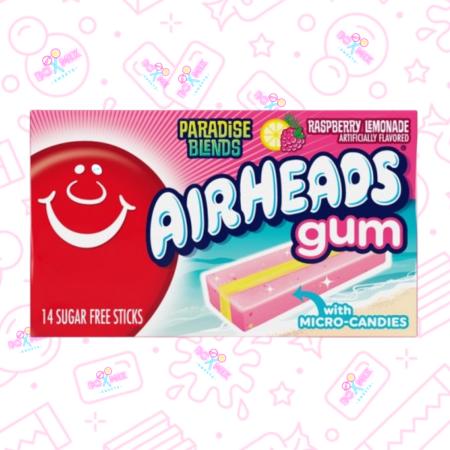 Airheads Raspberry Lemonade chewing gum - Boxmix.co.uk
