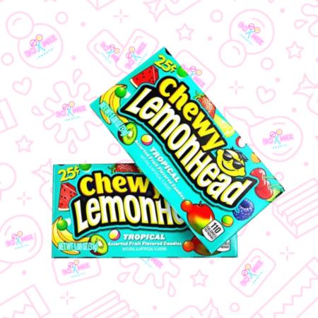 Chewy Lemonheads Tropical - Boxmix.co.uk