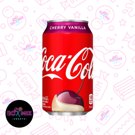 Coca Cola Cherry Vanilla 12fl.oz (355ml) - boxmix.co.uk