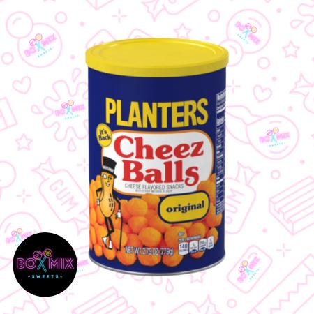 Planters Cheez Balls Original Flavor 2.75oz (77.9g) - Boxmix.co.uk