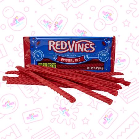 Red Vines Original Red Twists 141g - boxmix.co.uk