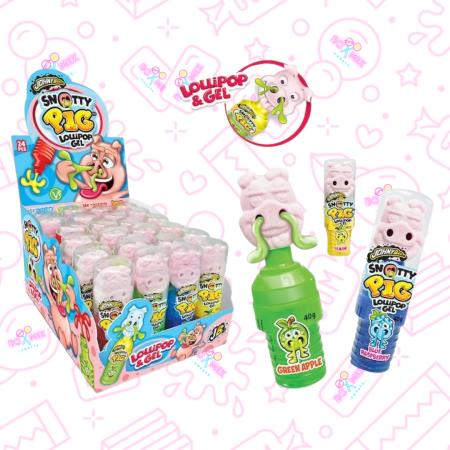 Snotty Pig lollipops - boxmix.co.uk