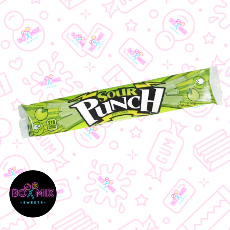 Sour Punch Apple Straws - boxmix.co.uk