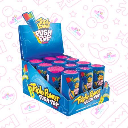 Triple power push pop - boxmix.co.uk