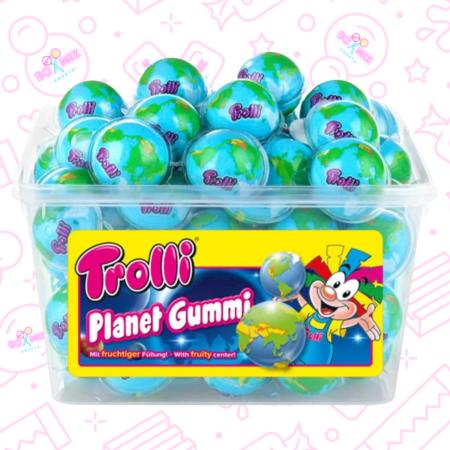 Trolli Planet Gummi globes- Boxmix.co.uk