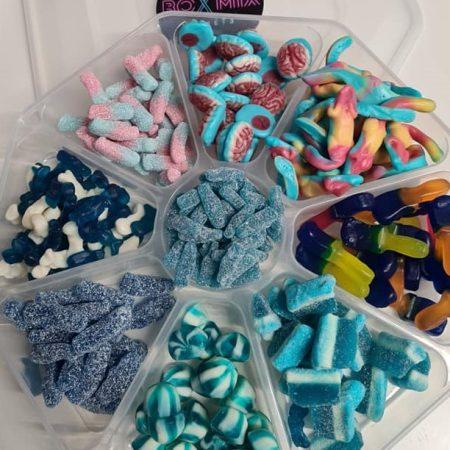 Blue Mix sweet platter