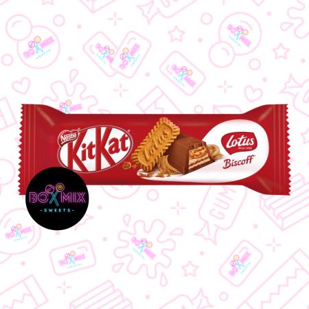 Kit Kat Chunky Biscoff - boxmix.co.uk