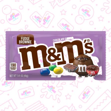 M&M's Fudge Brownie - boxmix.co.uk