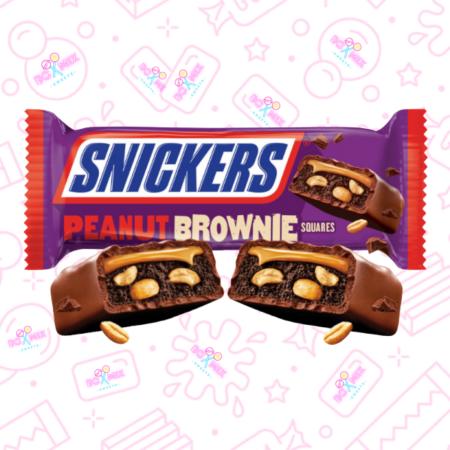 Snickers Peanut Brownie - boxmix.co.uk