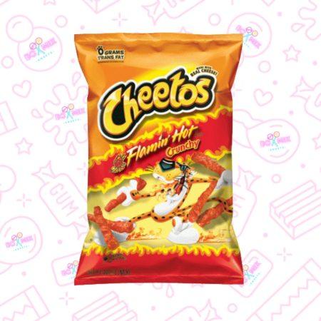 Cheetos Flamin Hot Crunchy - boxmix.co.uk