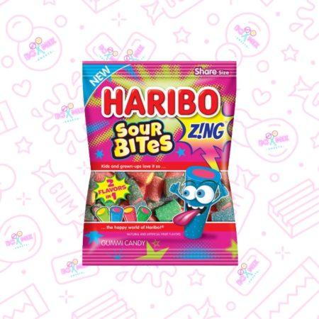 Haribo Sour Bites Zing - boxmix.co.uk
