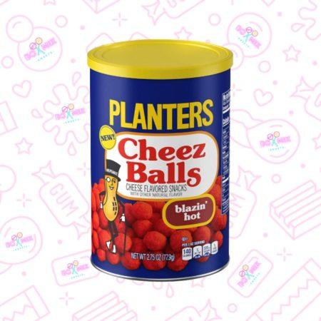 Planters Cheez Balls Blazin' Hot 2.75oz (77.9g) - boxmix.co.uk