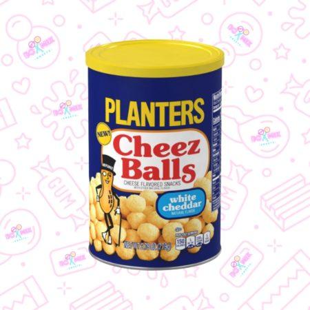 Planters Cheez Balls White Cheddar 2.75oz (77.9g)- boxmix.co.uk
