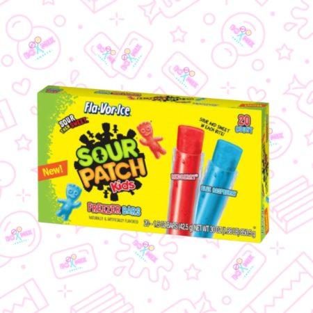 Sour Patch Kids Freezer Bars 20PK - boxmix.co.uk