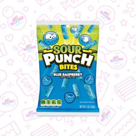 Sour punch bites blue raspberry - boxmix.co.uk