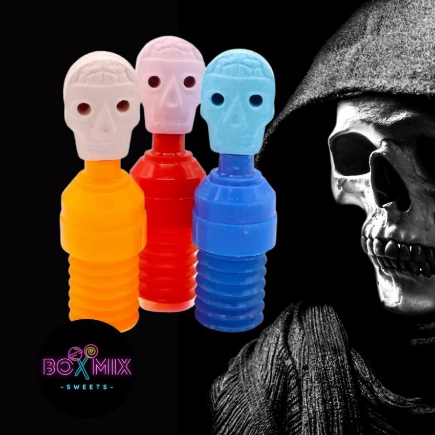 Crazy Candy Factory Skull Suckers 40g - boxmix.co.uk