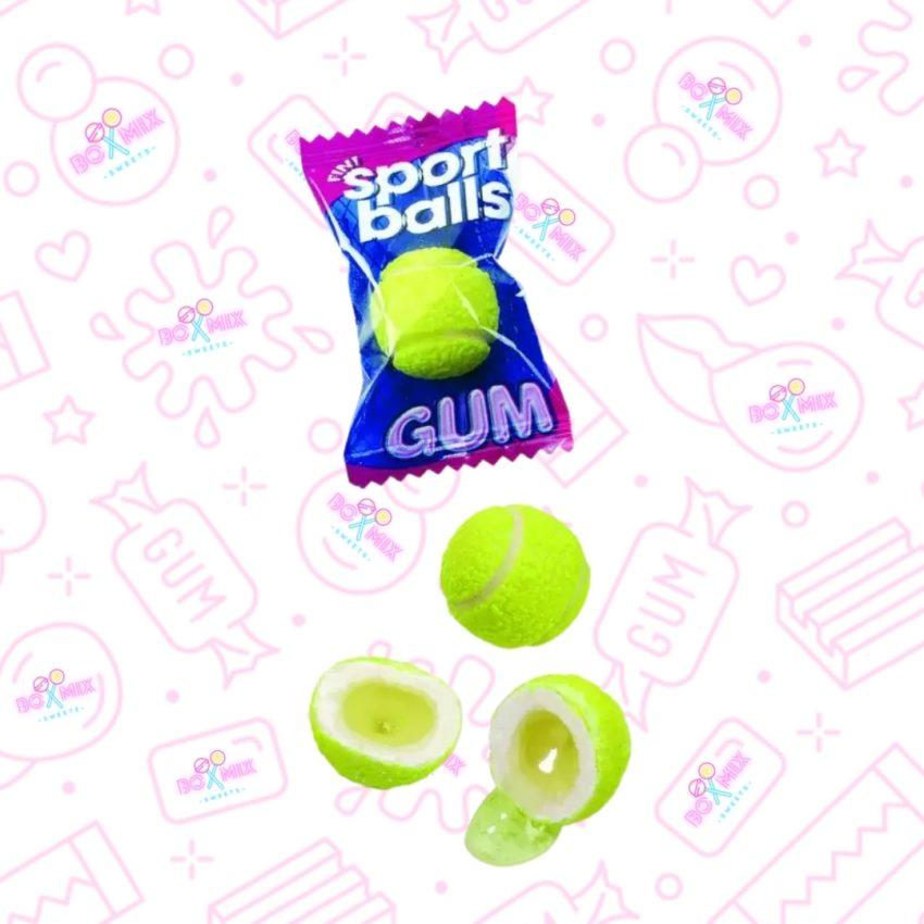 Fini Tennis Balls Liquid Filled Bubblegum - boxmix.co.uk